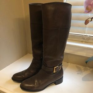 Banana Republic leather riding boots